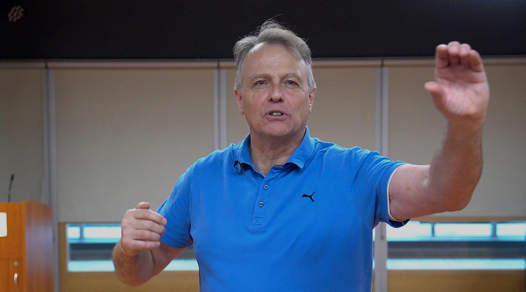 Richard Hudson, Keynote Speaker & Adventurer